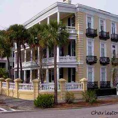 Charleston South Carolina. Favorite city. Beautiful southern architecture.