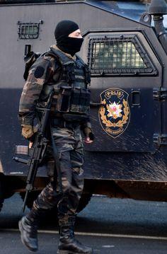 Turkey special Operation police -PÖH-