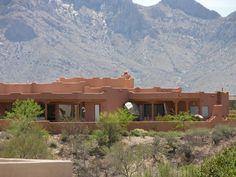 southwestern homes with courtyard photos | Home Plans, House Plan, Courtyard Home Plan,Santa Fe Style Home