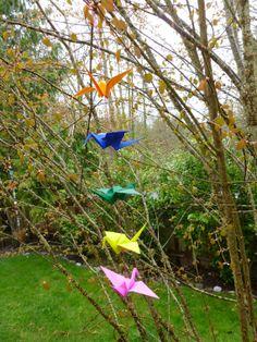 Custom Origami Cranes by ArtModule on Etsy