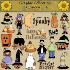 Halloween Fun Clip Art Download