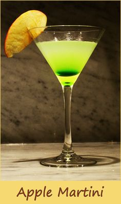 Appletini please…