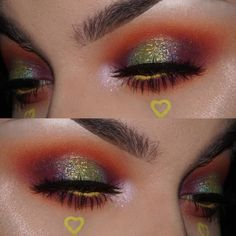 "5,161 Likes, 56 Comments - JANEEN (@janeenersss) on Instagram: ""💕For some reason this look reminds me of skittles.. EYES: @sugarpill flame point, butter cupcake,…"""