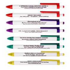 For people who borrow pens and never give them back. You'll get these back for sure