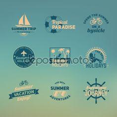 depositphotos_71884361-Set-of-summer-retro-design.jpg (1024×1024)