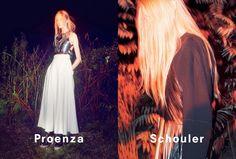 Proenza Schouler SS14 Campaign