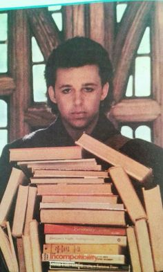 I'm such a sucker for boys who read... Roland Orzabal