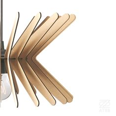 ATOB Handmade Pendant Lights ~ Boomerang Light Detail ~Raw Serie ~ Made and Designed in Ruse, Bulgaria Follow on https://www.instagram.com/atoblights/ #detail #light #lampshade #pendant #lasercut #woodendesign #flatpack #lamps #plywood #puzzlelamp #home #interior #wood #designwanted #interiordesign #woodenlamp #floorspot #wallrspot #nowyprodukt #made and #designed in #Ruse, #Bulgaria