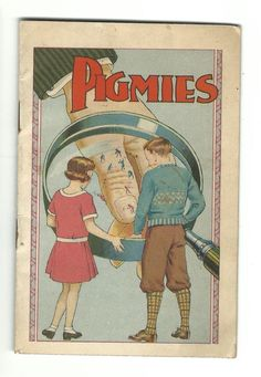 Old Advertising Premium Booklet Mentholatum Medicine PIGMIES Hercules