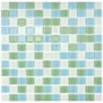 Spectrum Fresh Square 11-3/4 in. x 11-3/4 in. x 4 mm Glass Mosaic Wall Tile