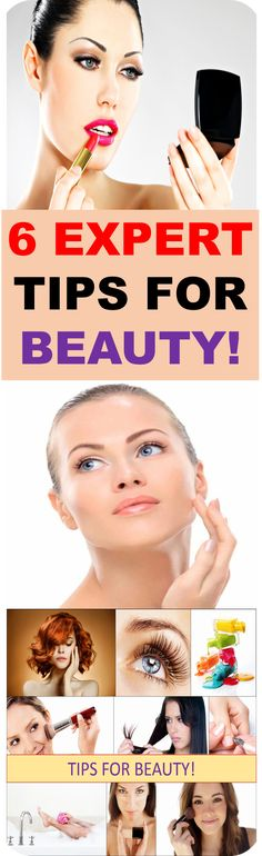 All of us are nurturing our body and face in best way we know about.  Although some little tricks with which we can shorten the path to beauty stay unknown... Until today!  These are tips for beauty which real professionals are giving to us!....
