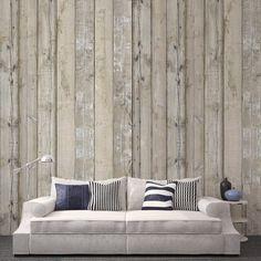 Papier peint imitation bois Scrapwood – NLXL by Arte – Au Fil des Couleurs