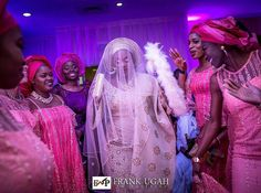 Its your day @temia55 make the most of it... Congratulations Shoutout to everyone getting married today  Photo credit @frankugahphotography  Make-UP by @odirididit Event planned and coordinate by @eventsbyelan Aso oke @tads_by_adeola  #gidiweddingsng #tabbs17 #tabbs17 #tradwedding #weddingswelove #asoebi #photography #wedding #nigeriawedding