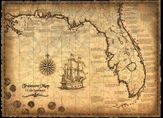 Real Treasure Maps | REAL treasure map for sale in Halifax, Nova Scotia Classifieds ...