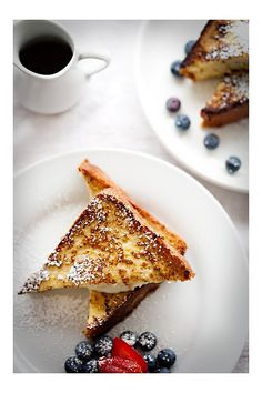 Brioche french Toast, stuffed with Marscapone and Marmalade....Starting my Saturday with THIS!