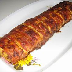 Őzgerincformában sült csirkemell Recept képpel - Mindmegette.hu - Receptek Hungarian Recipes, Bacon, Pork, Keto, Kale Stir Fry, Pork Chops, Pork Belly