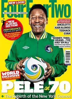 Four Four Two cover, Pele