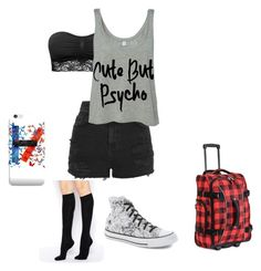 """""""Meeting my internet friends"""" by emobitch889 ❤ liked on Polyvore featuring Athalon, Topshop, Converse, ASOS and M&S"""