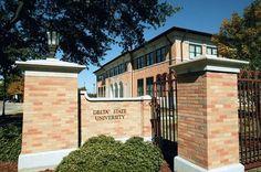 Entrance to Delta State University - http://www.msgreatriverroad.com/