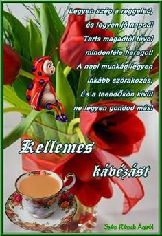Kedvesség Good Morning Greetings, Humor, Breakfast, Good Morning, Morning Coffee, Humour, Funny Photos, Funny Humor, Comedy