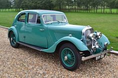 Rover Speed 14 Streamline Coupe 1935.