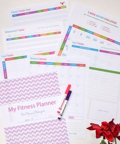 Weight Loss and Fitness Planner