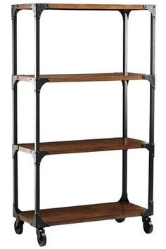 Industrial modern shelf inspiration