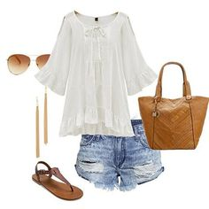 Easy & breezy. SKU: blouse151226102 Use inst33 for 33% off on shein.com! #inst33 #shein