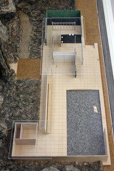 Model of Barcelona pavillon by Ludwig Mies van der Rohe | Flickr: Intercambio de fotos