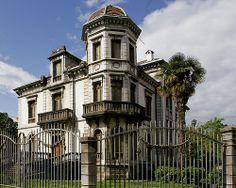 Casa de indianos.Cangas de Onís. Asturias. Spain.