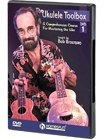 """Review of """"The Ukulele Toolbox"""" DVD 1 taught by the legendary Bob Brozman"""