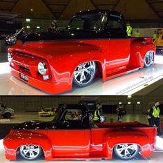 old ford trucks 56 Ford Truck, Classic Ford Trucks, Old Pickup Trucks, Lifted Ford Trucks, Lifted Chevy, Ford 4x4, Rc Trucks, Classic Cars, Dually Trucks