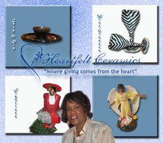 Shop with us today!!!! www.heartfeltceramics.com