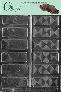 Cybrtrayd AO088 Fancy Bars All Occasions Chocolate Candy Mold -- Click on the image for additional details.