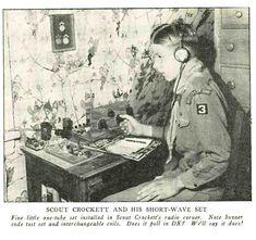 1934 Boy Scout's radio receiver.