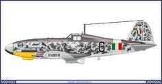 Fiat G-55 Series 1 - 1 Squadriglia 2 Gruppo 1944