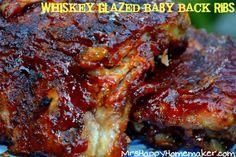 Flashback Friday - Whiskey Glazed Baby Back Ribs