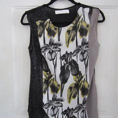 Zara Collection Top Black/ Gray/ Yellow Zara Top. Final markdown. Very pretty! Zara Tops