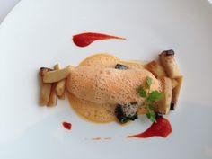 Appetizer with Bisque de Homard