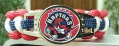 """TORONTO RAPTORS Bracelet sz. 7.5""""- LARGER, CLEANER, SHARPER DESIGNS!"""