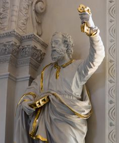 https://flic.kr/p/CDmF7B | Tu es Petrus et super hanc petram aedificabo ecclesiam meam et tibi dabo claves regni caelorum | St. Andreas, Düsseldorf