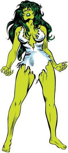 she hulk (Marvel Comics) (Early) Mike Vosburg art. From http://www.writeups.org/she-hulk-marvel-comics-jennifer-walters-earliest/
