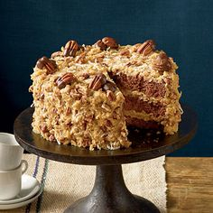 Mama's German Chocolate Cake Pure Southern perfection! Layers of moist German chocolate cake and sweet-and-nutty Coconut-Pecan Frosting will make this dessert an instant favorite