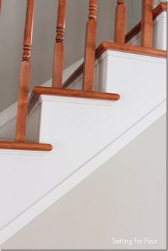 How To Makeover Your Stairs // Tips To Replace Carpet And Install Hardwood    Page 2 Of 3
