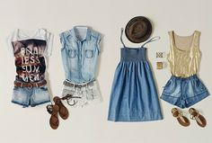Hipster summer outfit cute vintage and hipster summer outfit Cute Summer Outfits, Cute Casual Outfits, Outfits For Teens, Summer Dresses, Summer Clothes, Beach Outfits, Hipster Outfits, Outfit Summer, Casual Dresses