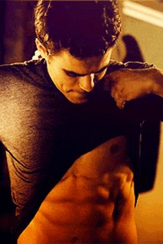 20 Reasons We Adore The Salvatore Brothers From The Vampire Diaries Dimple and Abs (sigh)