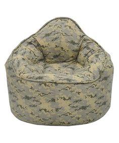 Camo Bean Bag Chair #zulilyfinds