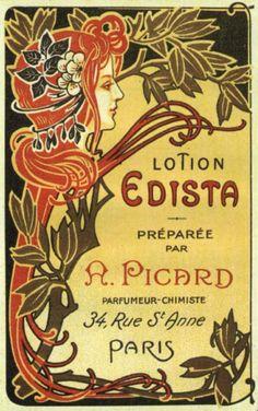 art nouveau posters | Art Nouveau e Art Déco na história do design | Design lá em casa.