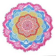 23 Style Round Beach Towel Table Cloth 150cm Adults Bath Towel Jacquard Tablecloth Mandala Drop Shipping