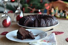 Drunken Chocolate Fruit Cake - Natural Fit Foodie This Drunken Chocolate Fruit Cake is not your traditional fruit cake.